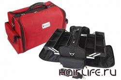 Cкидка 39% на чемоданы (кейсы) для визажиста Hairway