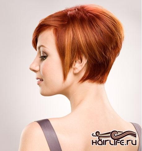 стрижки на короткие волосы с прямой челкой фото.