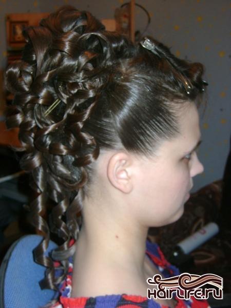 прически на новогодний бал на длинные волосы мастер класс
