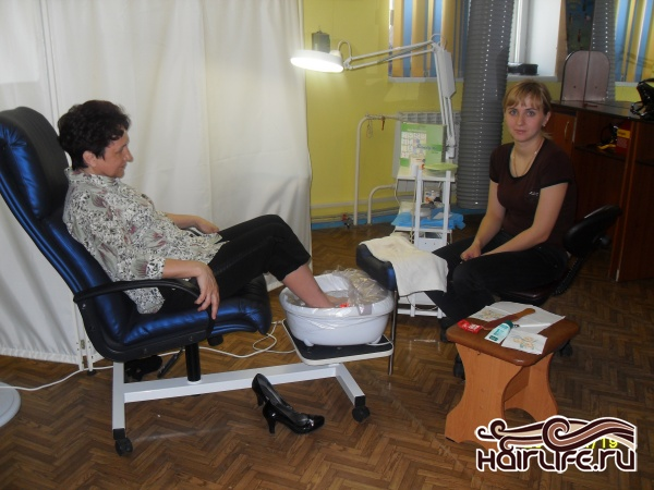 подготовка к уроку педикюра
