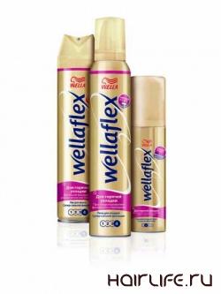 Новинки продукции от Wellaflex позволят сохранить здоровье волос и позаботятся о красоте прически
