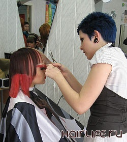 VI городской конкурс парикмахеров «Молодые таланты»