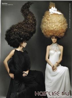 11-13 июня «Скульптура прически, создание фантазийного образа (прическа и макияж)» от Александра Кувватова и Елены Митяниной
