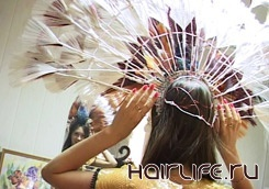 Харьковская мастерица создает шедевры из искусственных волос
