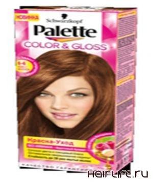 Schwarzkopf представляет новую серию красок для волос Palette Color & Gloss