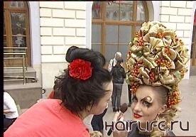 В Гостином дворе прошел международный фестиваль парикмахерского искусства