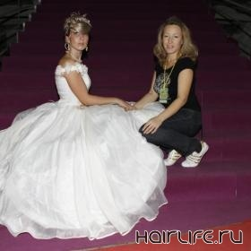 В Санкт-Петербурге оценили «Прическу для новобрачной», созданную стилистом из Владимира