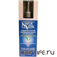 Линия лечебных средств против выпадения волос Natur Vital