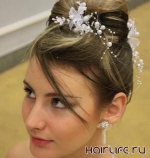 «Прическа новобрачной» была оценена на Чемпионате по парикмахерскому искусству