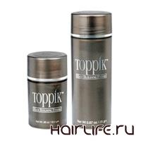 Загустители волос Toppik для маскировки облысения
