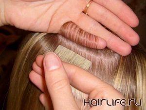 Новая технология наращивания волос Hair Talk (Германия)