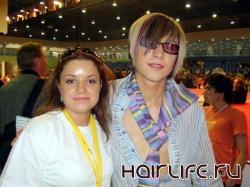 Парикмахер из Беларуси одержала первенство в чемпионате мира по парикмахерскому искусству, состоявшегося в Милане