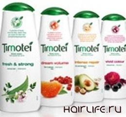 Unilever обновил упаковку для всей линии средств Timotei