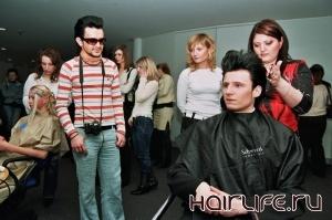 На шоу парикмахеров приехали израильские стилисты и визажисты