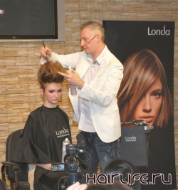 Мастер - класс стилиста Londa Professional 2012 год