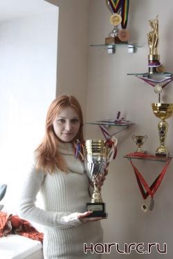Ксения Емельянова, победившая на чемпионате Москвы, поедет доказывать свое мастерство на чемпионате мира