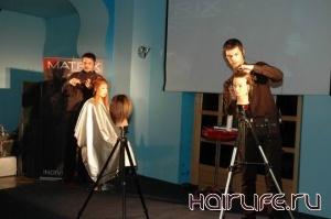 Мастер-класс для парикмахеров прошел в Выборге