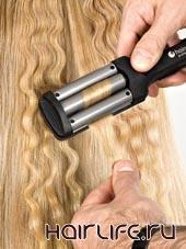 Плойка - волна Hairway Titanium-Tourmaline mini