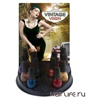 Новая коллекция лаков для ногтей осенне-зимнего сезона Vintage Vixen от компании CG (Компания Виктории)