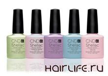 Коллекция Shellac от CND обновилась