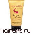 Аккумулятор для волос: крем с кератином для поврежденных волос от COSMELITTE PROFESIONAL