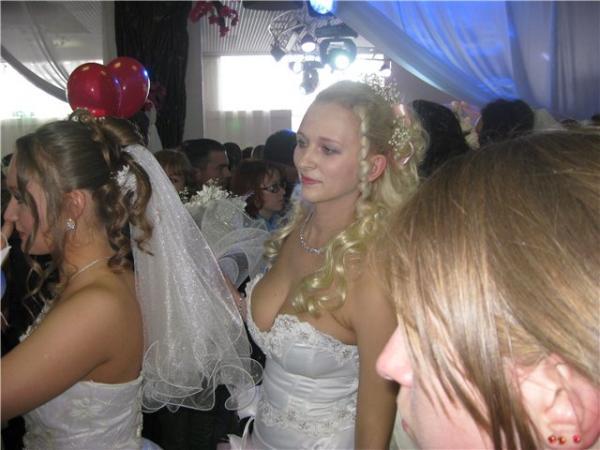 большие груди невесты: