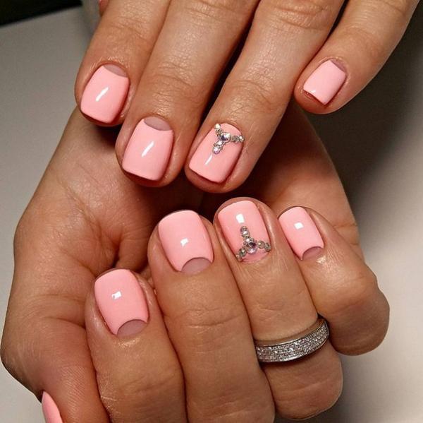 Как накрасить ногти на новый год с лака