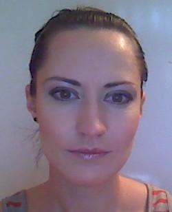 Готовый макияж с открытыми глазами.